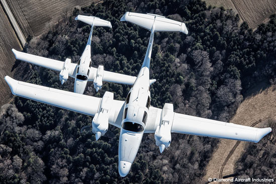 Foto Flieger Diamond Aircraft