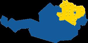 Niederösterreich Landeskliniken Karte